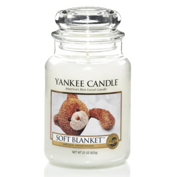 Yankee Candle Housewarmer SOFT BLANKET 623 g