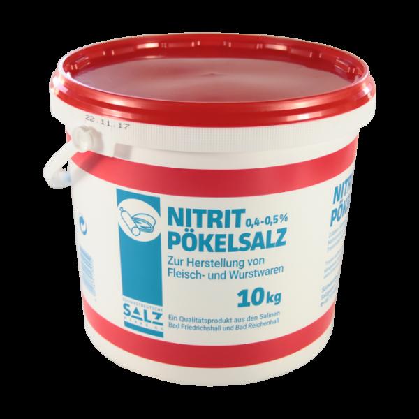 10kg Eimer Siede - Nitritpökelsalz | 0,4 - 0,5% Natriumnitrit | für Fleisch- und Wurstwaren