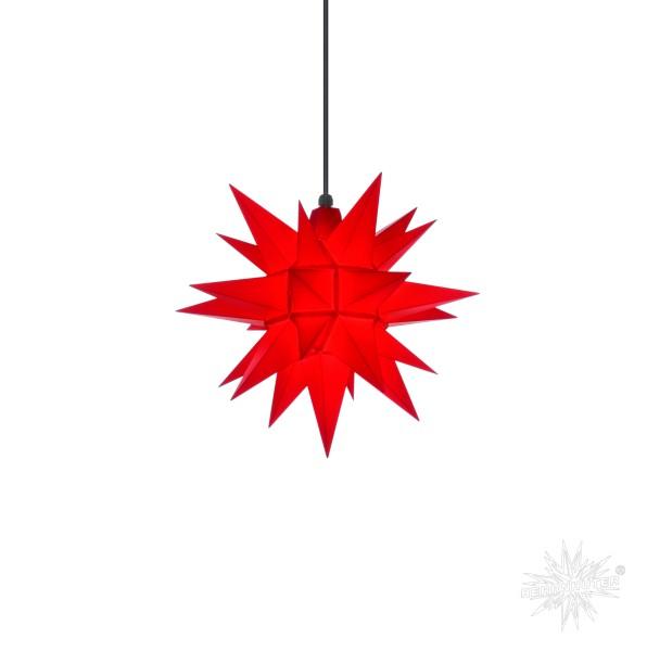 Herrnhuter Sterne ADVENTSSTERN Kunststoff A4 ca. Ø40 cm | rot