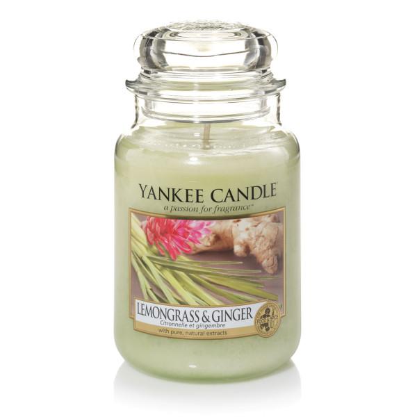 Yankee Candle Housewarmer LEMONGRASS & GINGER 623 g