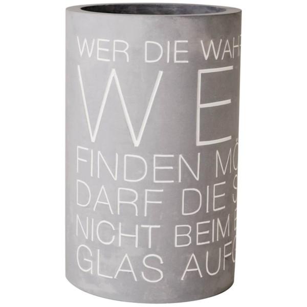 räder BETON FLASCHEN- & WEINKÜHLER Wahrheit im Wein