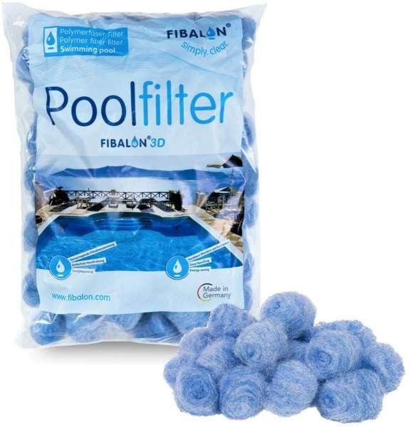 FIBALON 3D 350g Polymerfaserfilter | ersetzt 25kg Filtersand | für alle gängigen Filteranlagen