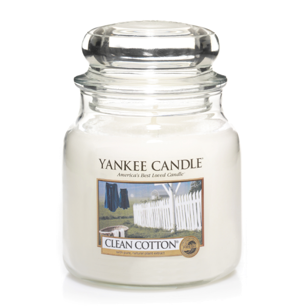 Yankee Candle Housewarmer CLEAN COTTON 411 g