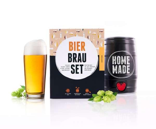 Braufässchen Bierbrauset HELLES - LAGER Geschenkset | 5 Liter | in 7 Tagen fertig