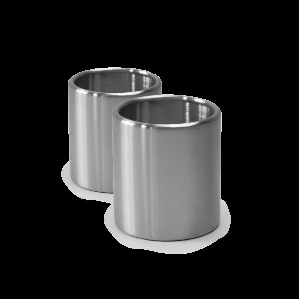 höfats 2er Set Edelstahl Nachfüllbehälter für Bioethanol für SPIN | je 500ml