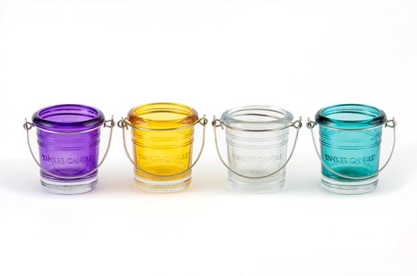 Yankee Candle Bucket Votivhalter / violett