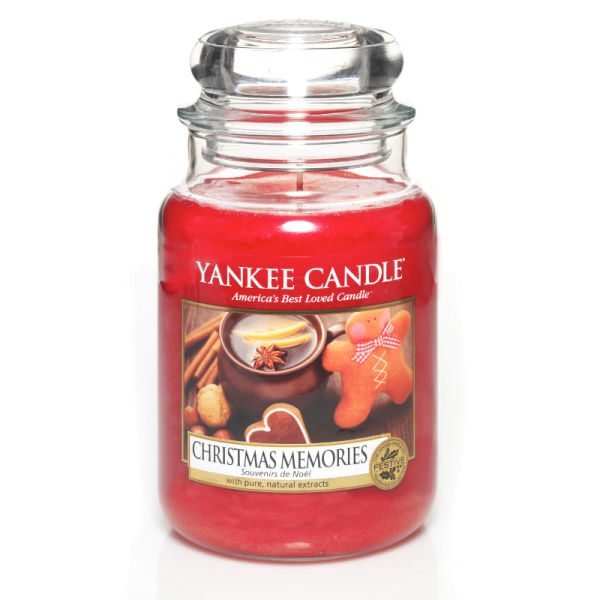 Yankee Candle Housewarmer CHRISTMAS MEMORIES 623 g
