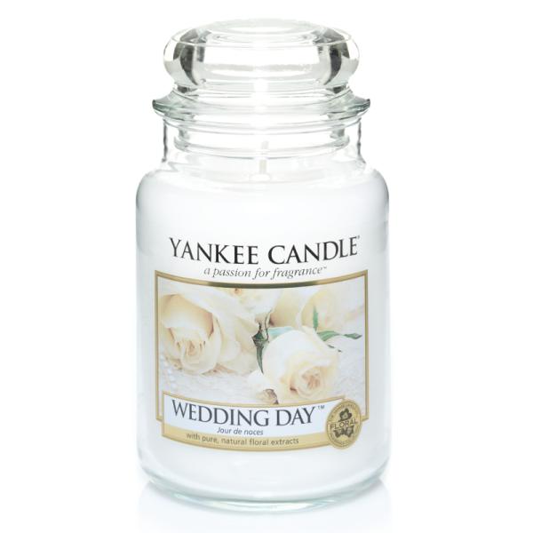 Yankee Candle Housewarmer WEDDING DAY 623 g