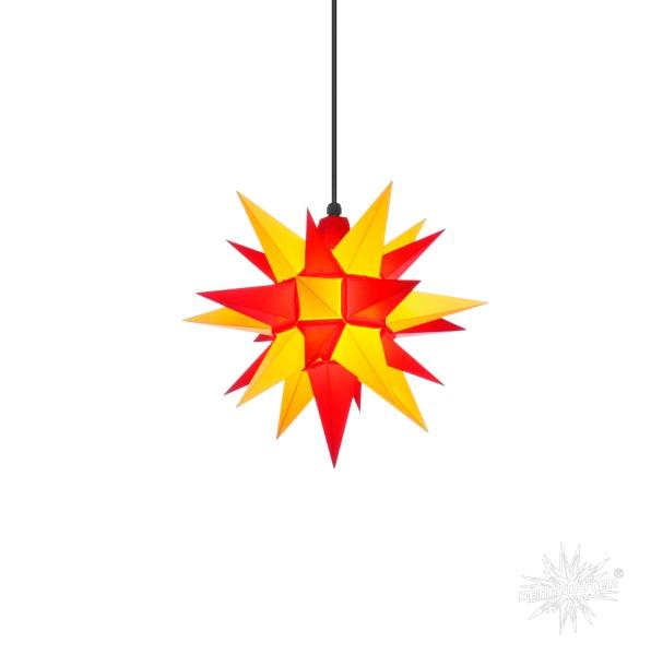 Herrnhuter Sterne ADVENTSSTERN Kunststoff A4 ca. Ø40 cm | gelb-rot