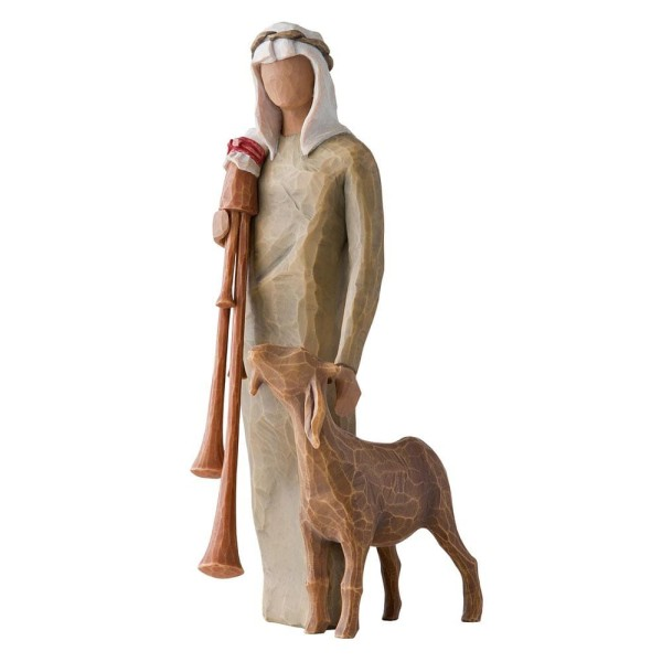 Willow Tree Figur Hirte mit Dudelsack / Zampognaro (Shepherd With Bagpipe)