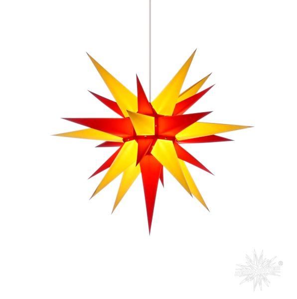 Herrnhuter Sterne ADVENTSSTERN Papier I6 ca. Ø60 cm | gelb-rot