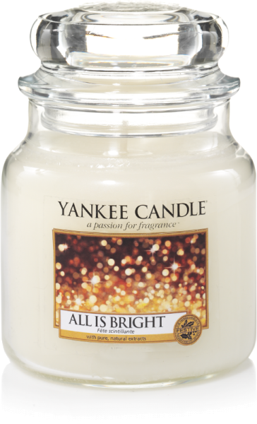 Yankee Candle Housewarmer ALL IS BRIGHT 411 g
