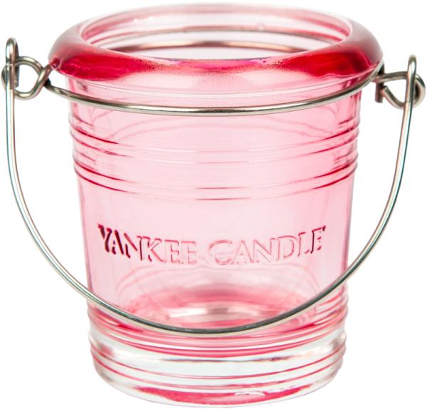 Yankee Candle Bucket Votivhalter / pink