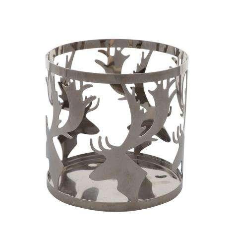 Yankee Candle NORDIC STAG Jar Sleeve Metall