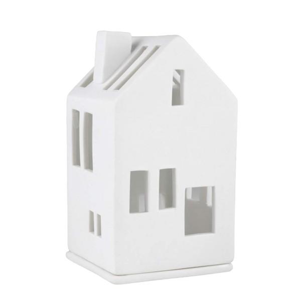 räder Porzellan MINI-LICHTHAUS Wohnhaus / 6cm x 6cm x 11cm