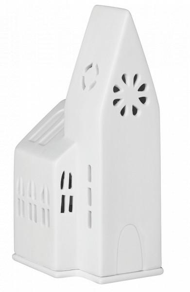 räder Porzellan LICHTHAUS kleine Kirche / 9cm x 9cm x 18cm