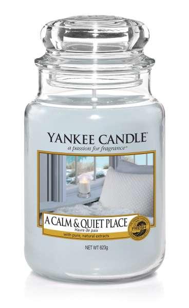Yankee Candle Housewarmer A CALM & QUIET PLACE 623g