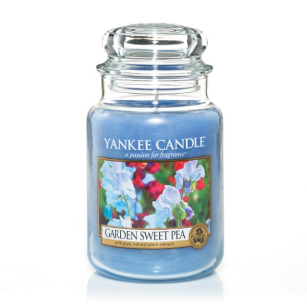 Yankee Candle Housewarmer GARDEN SWEET PEA 623 g