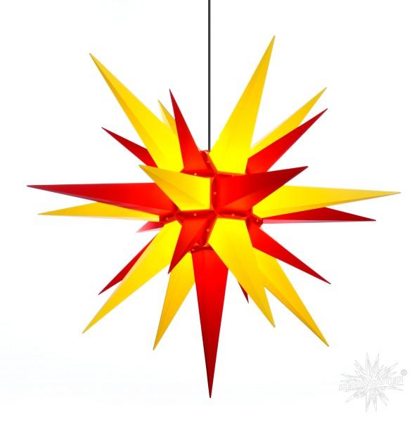 Herrnhuter Sterne ADVENTSSTERN Kunststoff A13 ca. Ø130 cm | gelb-rot