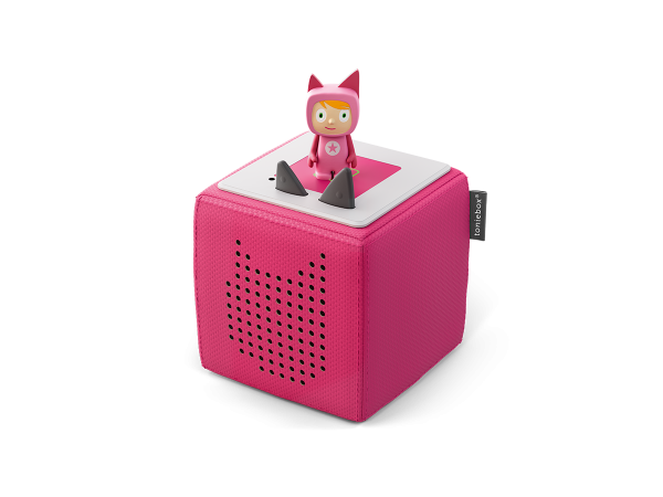 tonies® TONIEBOX STARTERSET | pink inkl. Kreativ-Tonie