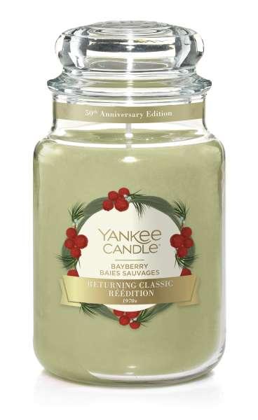 Yankee Candle Housewarmer BAYBERRY Sonderduft 50th Anniversary 623g