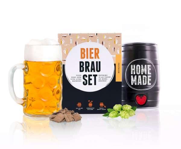 Braufässchen Bierbrauset FESTBIER Geschenkset | 5 Liter | in 7 Tagen fertig