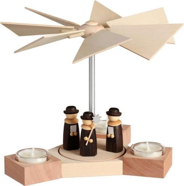 Seiffener Volkskunst Pyramide Hexagonum Weihnachtssänger / 20 cm