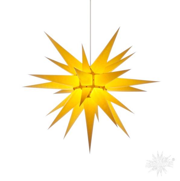 Herrnhuter Sterne ADVENTSSTERN Papier I7 ca. Ø70 cm   gelb