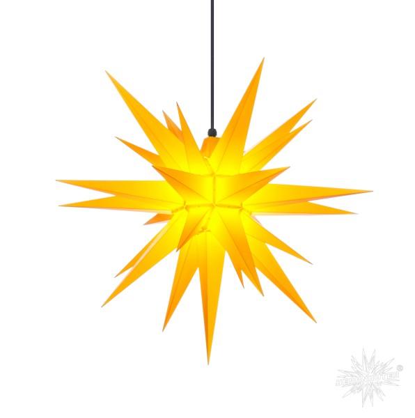 Herrnhuter Sterne ADVENTSSTERN Kunststoff A7 ca. Ø68 cm | gelb