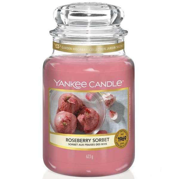 Yankee Candle Housewarmer ROSEBERRY SORBET 623g