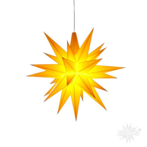 Herrnhuter Sterne ADVENTSSTERN Kunststoff A4 ca. Ø40 cm | gelb