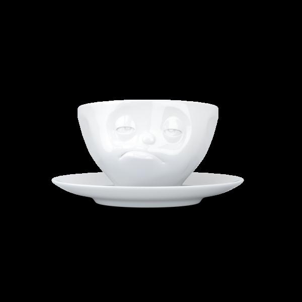 Fiftyeight Kaffeetasse VERPENNT ca. 200ml / weiß