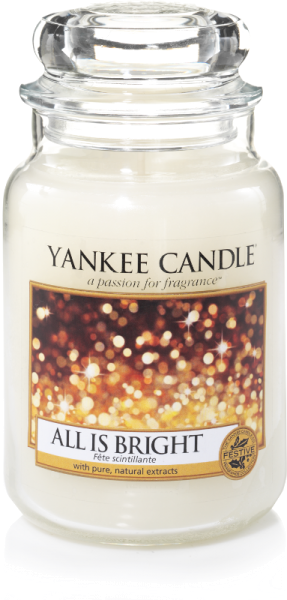 Yankee Candle Housewarmer ALL IS BRIGHT 623 g