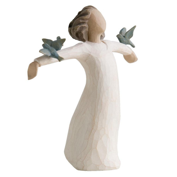 Willow Tree Figur Engel der Zufriedenheit / HAPPINESS