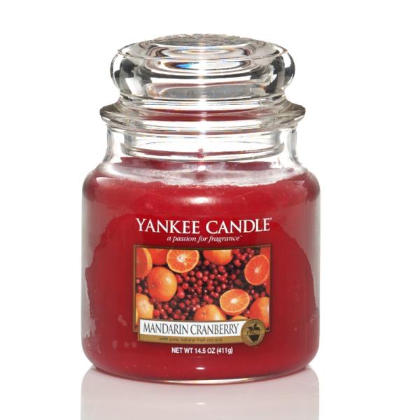 Yankee Candle Housewarmer MANDARIN CRANBERRY 411 g