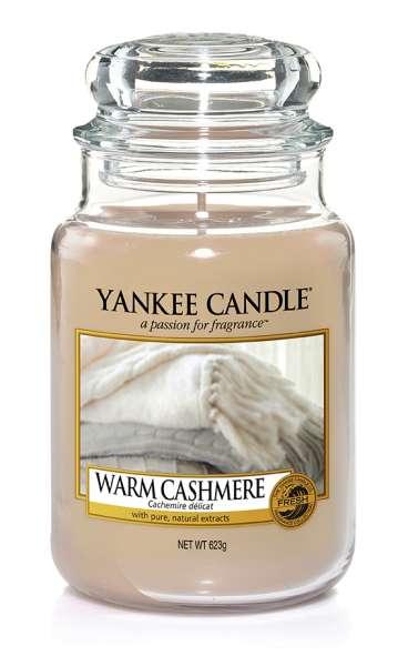Yankee Candle Housewarmer WARM CASHMERE 623g
