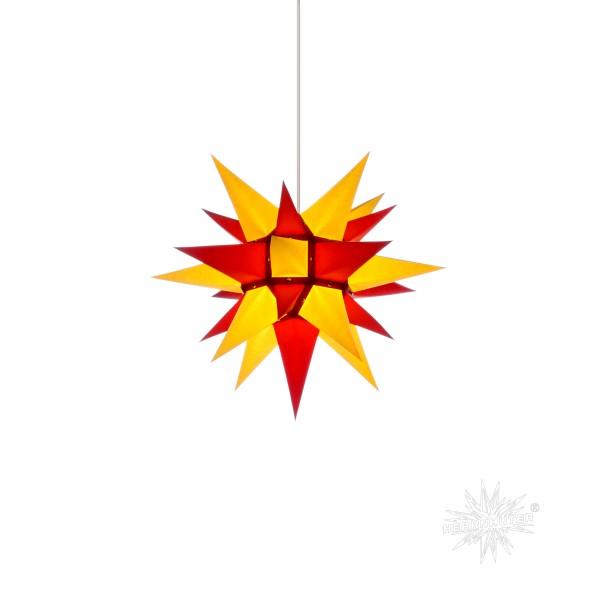 Herrnhuter Sterne ADVENTSSTERN Papier I4 ca. Ø40 cm | gelb-rot