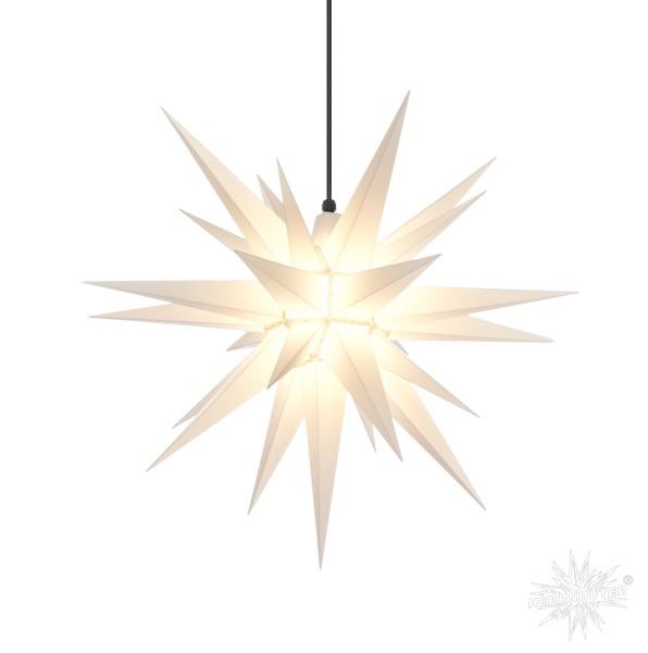 Herrnhuter Sterne ADVENTSSTERN Kunststoff A7 ca. Ø68 cm | weiß