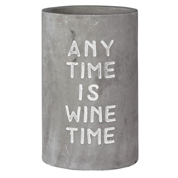 räder BETON FLASCHEN- & WEINKÜHLER Any Time is Wine Time