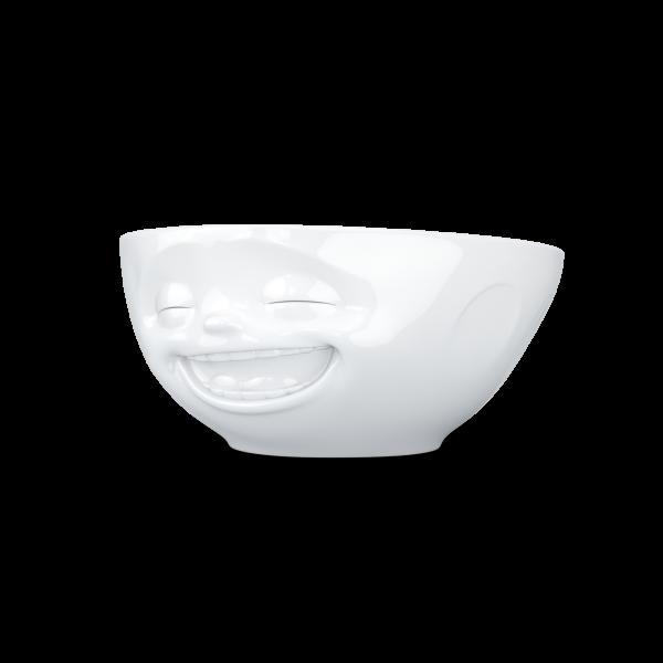 Fiftyeight Schale LACHEND ca. 350 ml / weiß