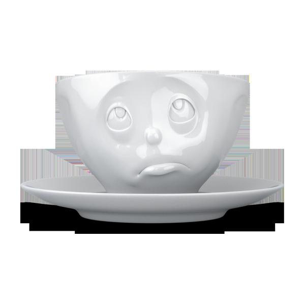 Fiftyeight Kaffeetasse OCH BITTE ca. 200ml / weiß