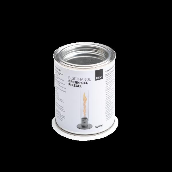 höfats Brenngel Bioethanol-Dose 500ml für SPIN Tischfeuer | Windlicht | Gartenfackel