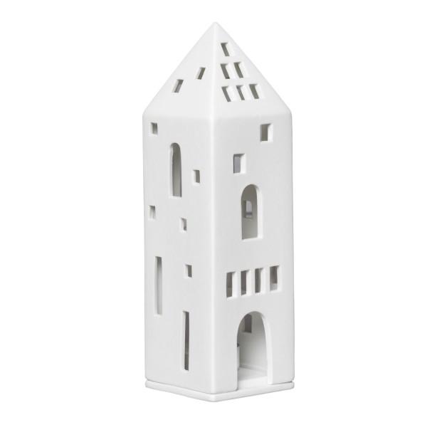 räder Porzellan LICHTHAUS Turm / 6cm x 6cm x 20,5cm