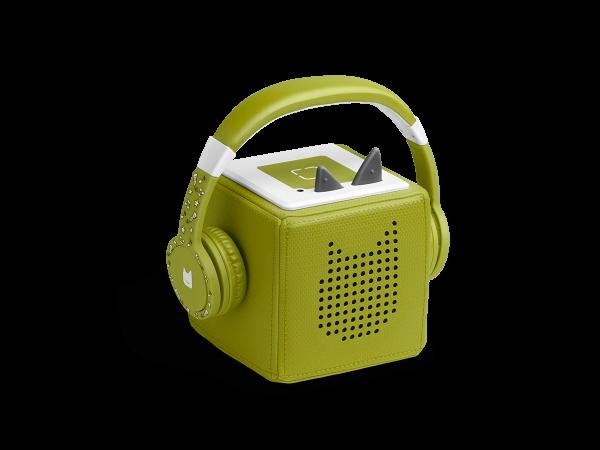 tonies® TONIE Lauscher grün | Kopfhörer für Toniebox