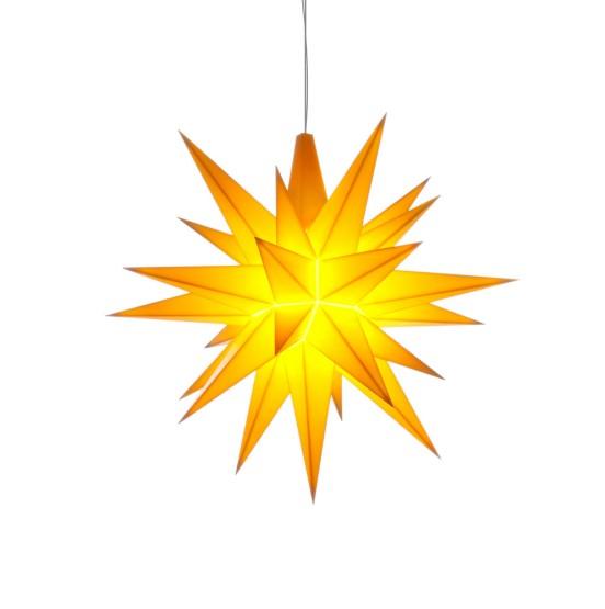 Herrnhuter Sterne LED ADVENTSSTERN Kunststoff Ø13 cm | gelb