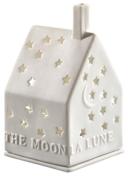 räder Porzellan LICHTHAUS The Moon / 7cm x 7cm x 10cm