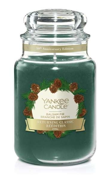 Yankee Candle Housewarmer BALSAM FIR Sonderduft 50th Anniversary 623g