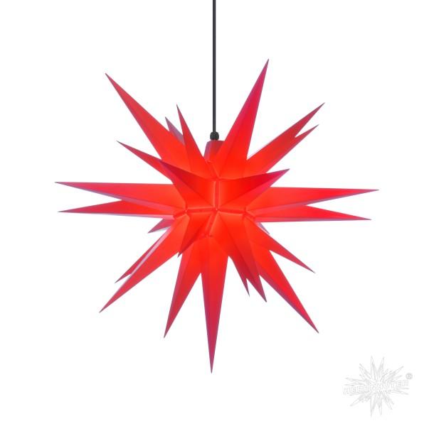 Herrnhuter Sterne ADVENTSSTERN Kunststoff A7 ca. Ø68 cm | rot