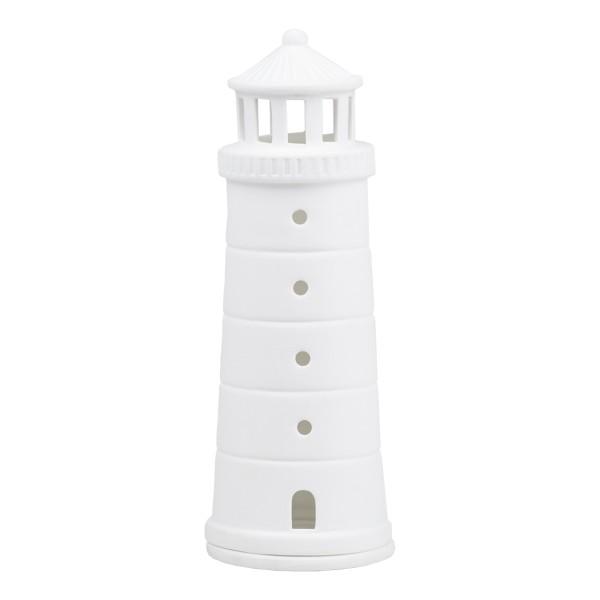 "räder Porzellan LICHTHAUS ""Meer als Worte"" Leuchtturm groß / d=6,5cm H=18cm"
