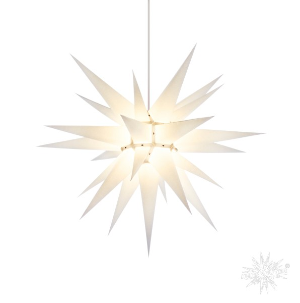 Herrnhuter Sterne ADVENTSSTERN Papier I7 ca. Ø70 cm | weiß
